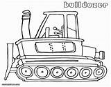 Bulldozer Coloring Pages Sheet sketch template