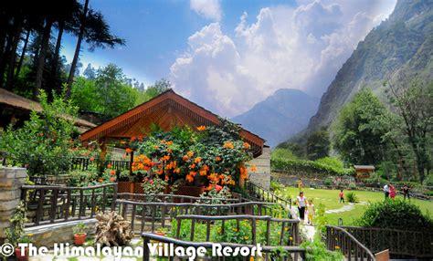 himalayan village resort  kasol himachal pradesh