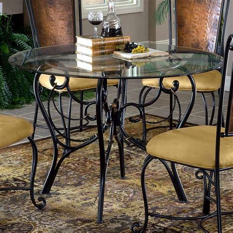 Wrought Iron Dining Table And Chairs, Wrought Iron Dining