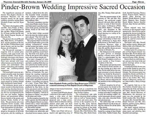 Pin By Momento On Wedding Newspapers