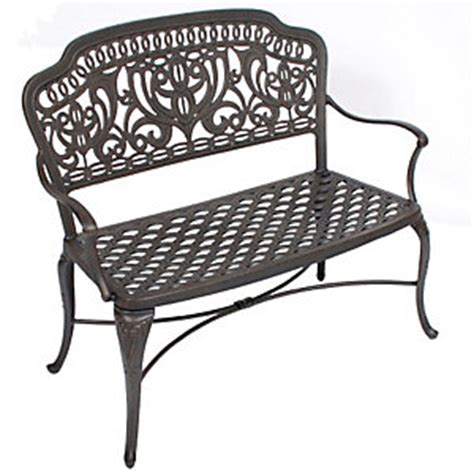 hanamint tuscany bench patio christysports com