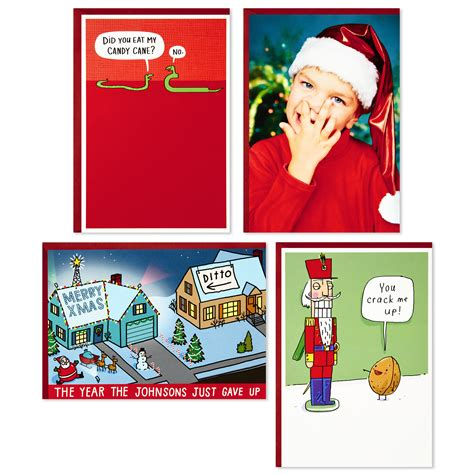 Funny interactive christmas ecards offer the perfect ways to share holiday jolly, like christmas ecard smashups™ that talk, sing and take selfies! Hallmark Shoebox Funny Boxed Christmas Cards Assortment ...