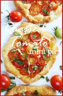 Mini Tomato Pie Appetizer