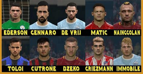 ultigamerz: PES 2017 Welcome 2018 Face Pack