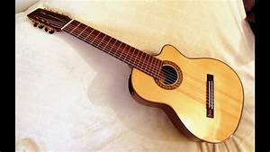 8-string Nylon Fanned Fret Guitar Review  Agile Instruments