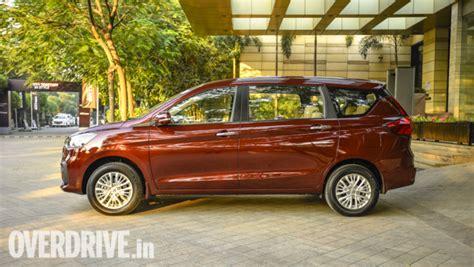 2019 Suzuki Ertiga by 2019 Maruti Suzuki Ertiga Drive Review Overdrive