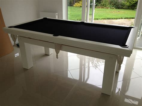 white pool table dining table pool diner 7ft in white black snooker pool table
