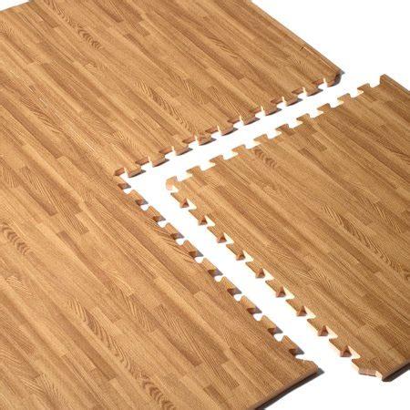 foam tiles walmart cap barbell 24x24 wood grain puzzle mat walmart
