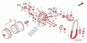 Oil Filter Oil Pump For Honda Vtx 1800 C 2003   Honda