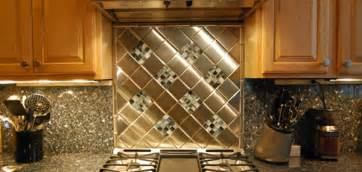aluminum backsplash kitchen unique kitchen backsplash best home decoration world class
