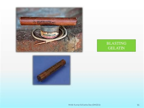 classification explosives its