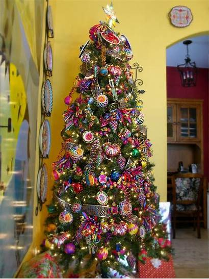 Mexican Christmas Tree Decorating Decorations Ornaments Trees