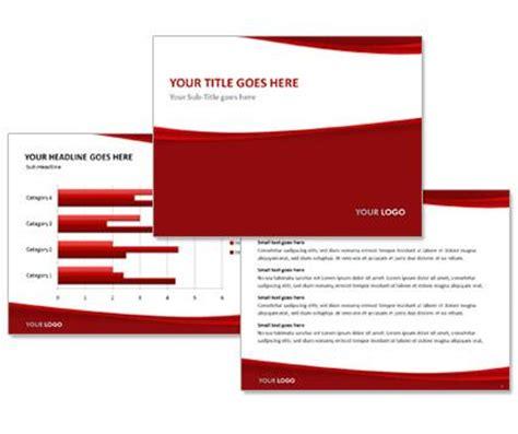 powerpoint vorlage red   presentationworld