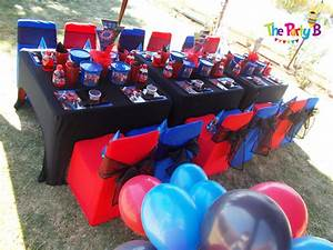 Spiderman themed party cape town - The Party B Kids