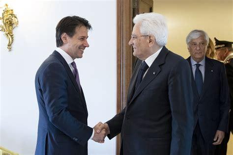 consiglio dei ministri italia incontro con il presidente consiglio dei ministri ed