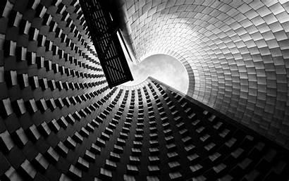 Modern Architecture Eye Worms Monochrome Walls Desktop