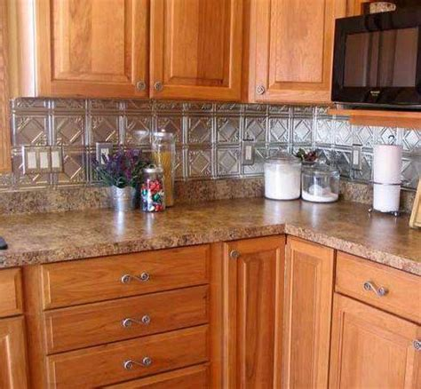 tin kitchen backsplash connecting the dots on decorating alternative splashing