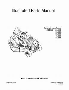 Mtd Snow Thrower Operator U0026 39 S Manual