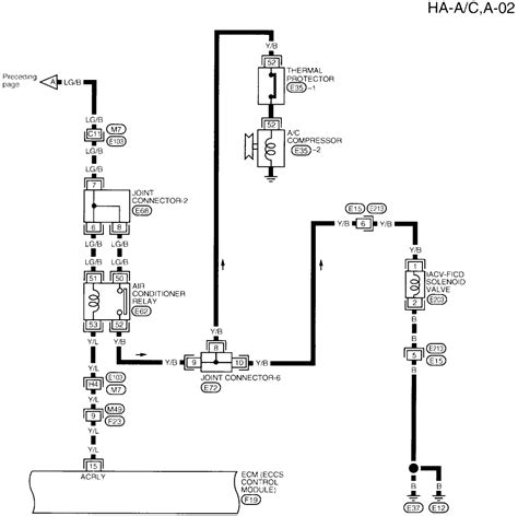 Wiring Diagram For A by How Can I Find A Wiring Diagram For A 98 Altima A C System