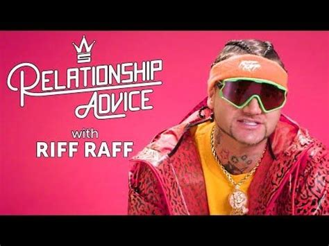 New video Riff Raff On The True Meaning Of Love | Relationship Advice on @YouTube | Relationship ...