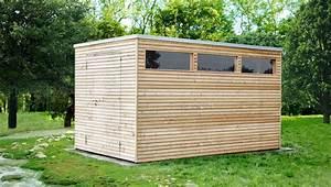 Gartenhaus Mit Flachdach : design gartenhaus holz l rchenholz mit flachdach ~ Michelbontemps.com Haus und Dekorationen