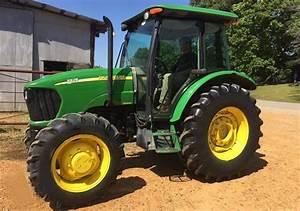 John Deere 5525 Utility Tractor Maintenance Guide  U0026 Parts List