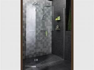 Tout savoir sur la douche a l39italienne for Porte de douche coulissante avec carrelage salle de bain grand format