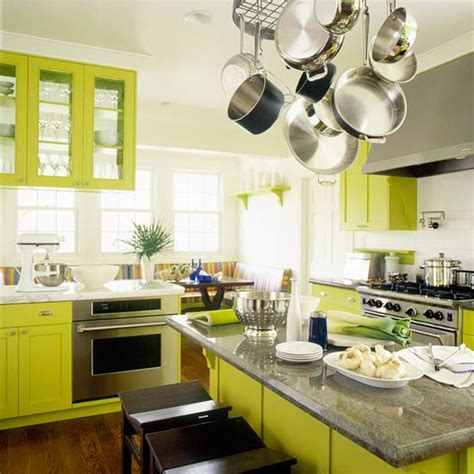 modern furniture green kitchen design  ideas