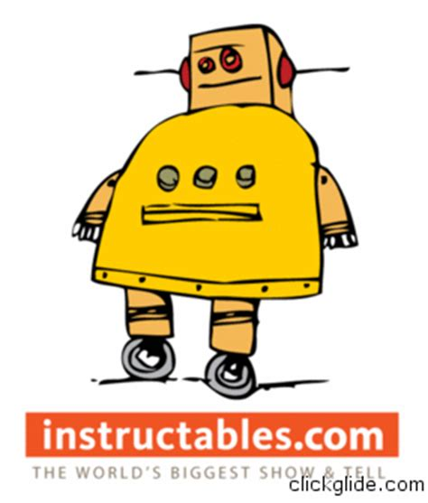 My little DIY was featured on Instructables front page ...