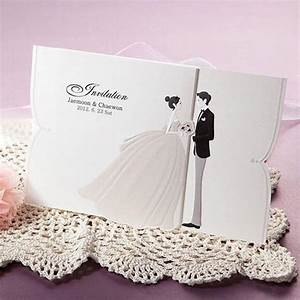100kits lovely couple wedding invitations cards envelopes for Wedding invitations with photos of couple