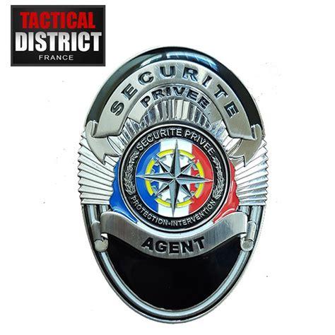 bureau sécurité privée plaque de ceinture de securité privée