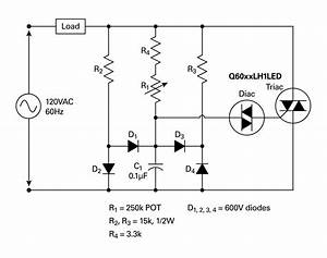 simplifying solid state lighting control With motor control wiring diagrams in addition triac dimmer circuit diagram