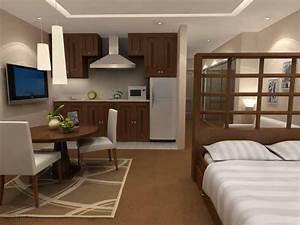 Small studio apartment interior design ideas inspiration for Studio apt design ideas