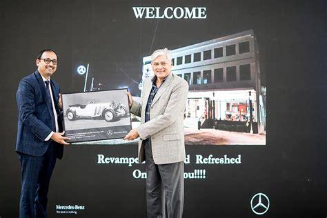 mercedes benz opens  service centre  hoodi bengaluru