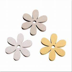 Siluetas Flores de Madera (3 colores)