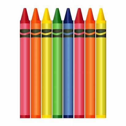 Crayon Crayons Transparent Clipart Drawing Crayola Pencil