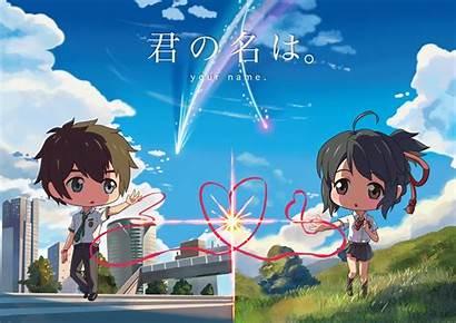 Kimi Wa Anime Couple Wallpapers Mitsuha 4k