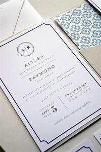 wedding invitation with pocket metropolitan jpress With custom wedding invitations new york city