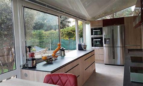 veranda extension cuisine extension cuisine veranda v randa maison une nouvelle pi