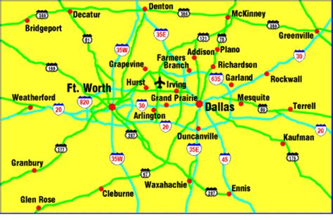 Another map - a close up! | Metro map, Map, Dallas