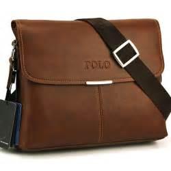 High Quality Leather POLO VIDENG Men Messenger Bag Crossbody Men's Travel Bags