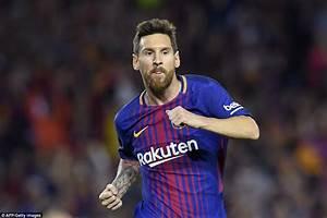 Barcelona 5-0 Espanyol: Lionel Messi grabs a treble ...