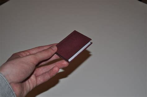 How To Bind A (real) Small Book