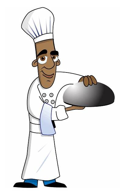 Chef Animated Moving Clipart Cliparts Clip Foods