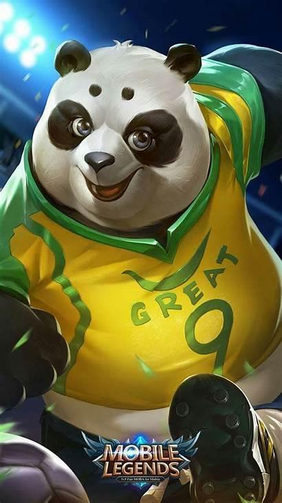 Legends Mobile Akai Legend Panda Hero Soccer