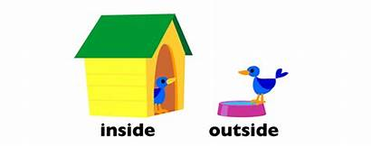 Outside Inside Spatial Concepts Worksheets Words English