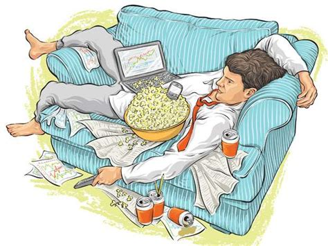 Does It Pay To Be A Couch Potato?