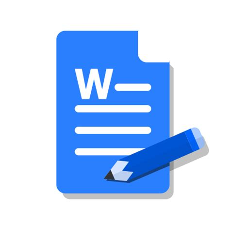 Now everything is much easier. word, Ms, Edit, write, Blue, Doc icon