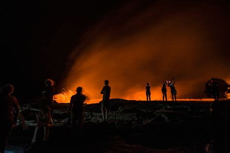 Hell on Earth: Ethiopia's Erta Ale Volcano and Dallol ...