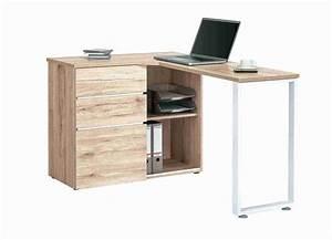 Petit Bureau Pas Cher : bureau noir avec rangement bureau d angle noir avec ~ Melissatoandfro.com Idées de Décoration